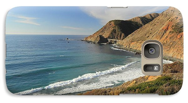 Galaxy Case featuring the photograph Big Sur Bridge by Scott Rackers