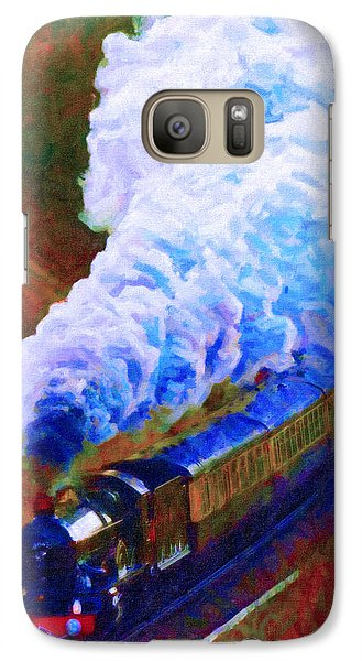 Galaxy Case featuring the digital art Billowing by Chuck Mountain