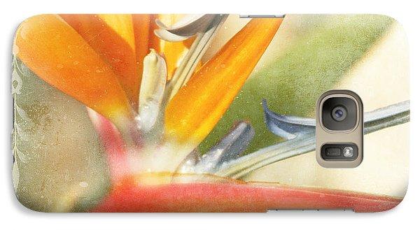 Bird Of Paradise - Strelitzea Reginae - Tropical Flowers Of Hawaii Galaxy S7 Case by Sharon Mau