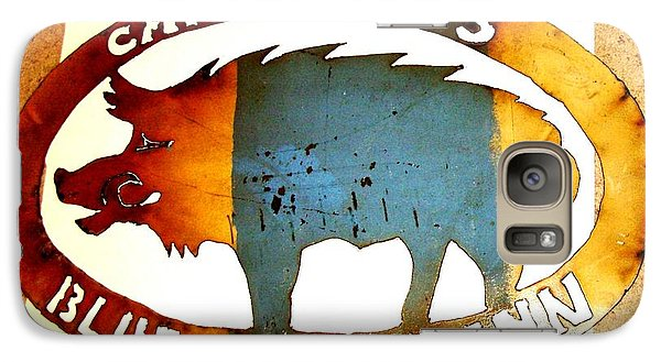 Galaxy Case featuring the photograph Blue Boar Inn by Larry Campbell