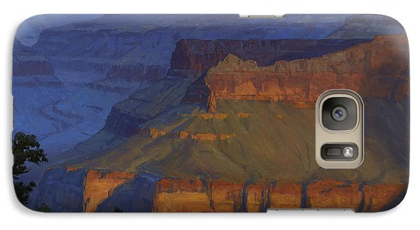 Grand Canyon Galaxy S7 Case - Blue Morning by Cody DeLong