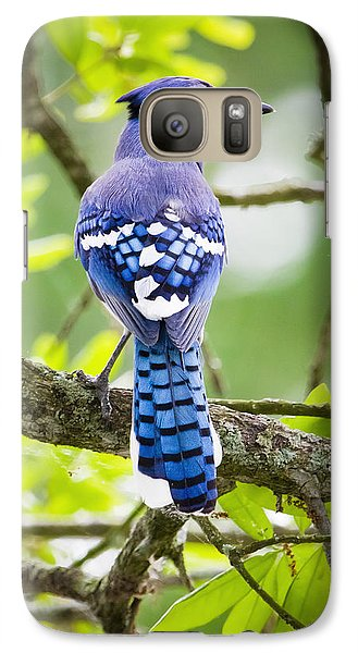 Bluejay Galaxy S7 Case by Ricky L Jones