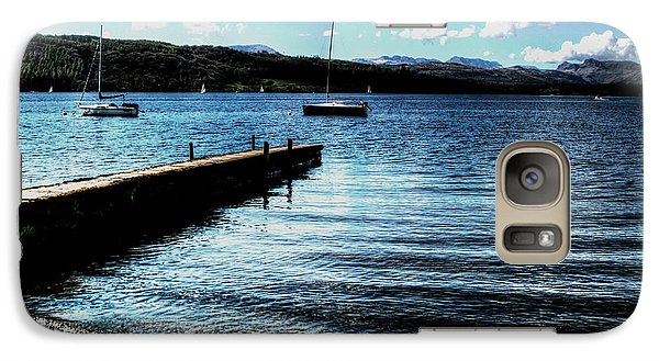 Galaxy Case featuring the photograph Boats In Wales by Doc Braham