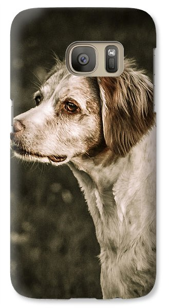 Galaxy Case featuring the photograph Brittany by Bradley Clay