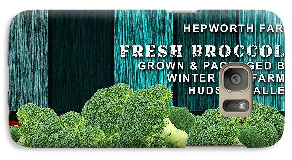 Broccoli Farm Galaxy Case by Marvin Blaine