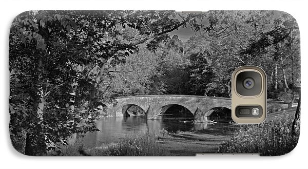 Galaxy Case featuring the photograph Burnside Bridge by Andy Lawless