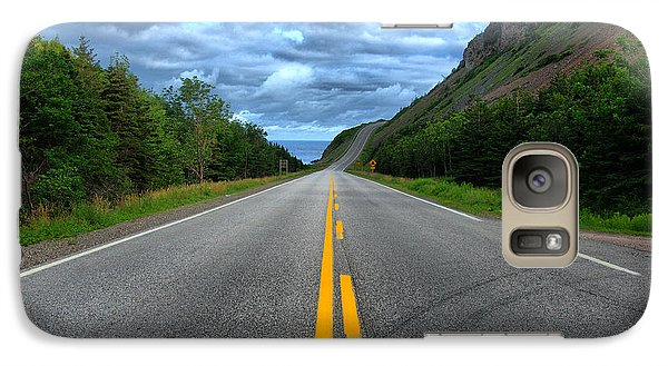 Galaxy Case featuring the photograph Cabot Trail by Joe  Ng