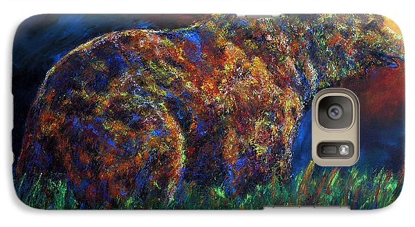 Galaxy Case featuring the painting Calm Before The Storm by Jennifer Godshalk