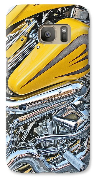 Galaxy Case featuring the photograph Canary And Chrome Labyrinth by Samuel Sheats