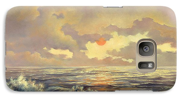 Galaxy Case featuring the painting Cappuccino Bay by Lynne Wright