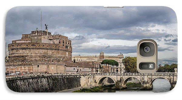 Castle St Angelo In Rome Italy Galaxy S7 Case