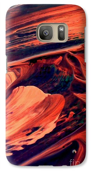 Galaxy Case featuring the painting Catalyst by Jacqueline McReynolds