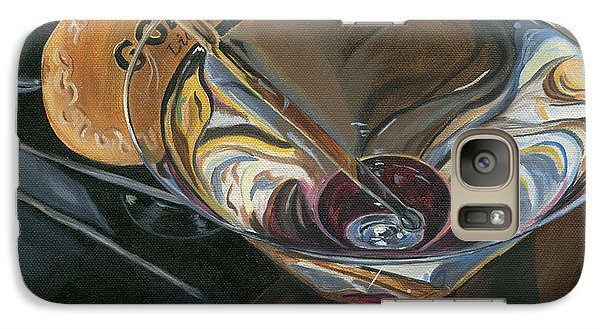 Cocktails Galaxy S7 Case - Chocolate Martini by Debbie DeWitt