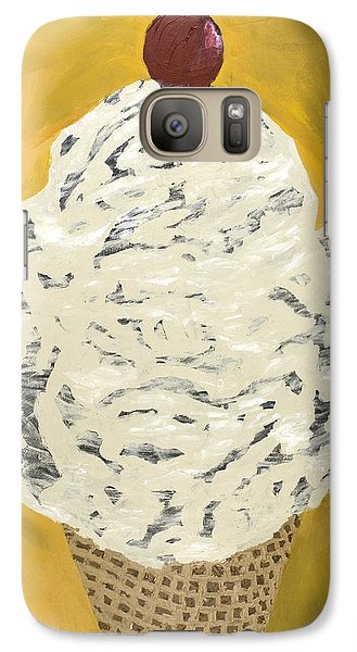 Galaxy Case featuring the painting Swirly by Kurt Olson