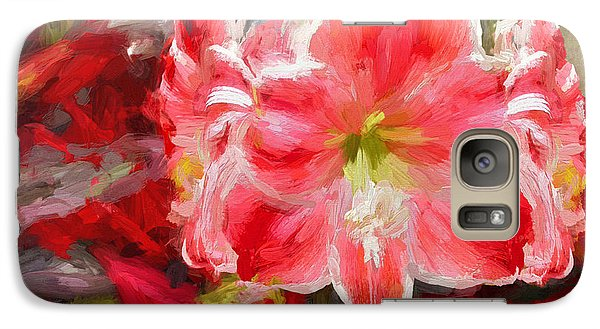 Christmas Lilies Galaxy S7 Case