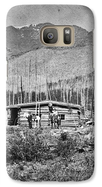 Galaxy Case featuring the photograph Colorado Miners by Granger