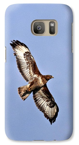 Galaxy Case featuring the photograph Common Buzzard by Paul Scoullar