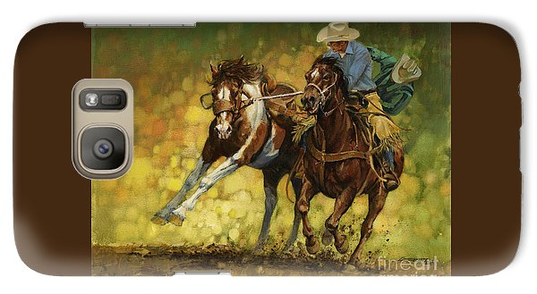 Rodeo Pickup Galaxy S7 Case