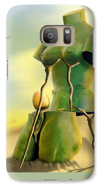Buzzard Galaxy S7 Case - Crutches by Mike McGlothlen