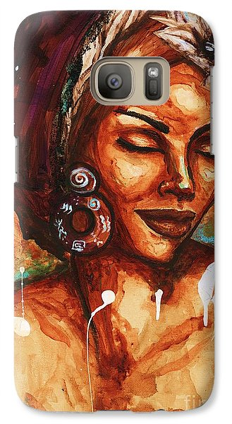 Galaxy Case featuring the painting Daydreaming Too by Alga Washington