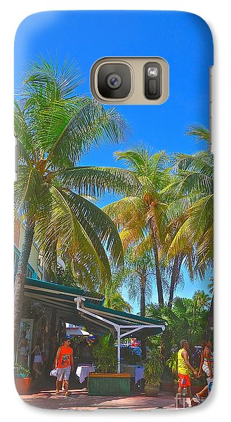 Galaxy Case featuring the photograph Deco Drive by Judy Kay