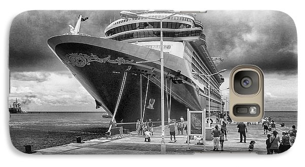 Galaxy Case featuring the photograph Disney Fantasy by Howard Salmon