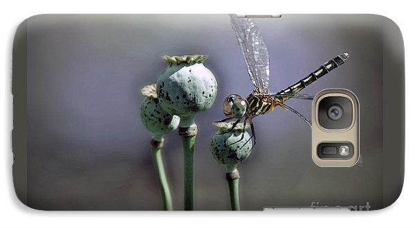 Galaxy Case featuring the photograph Dragonfly by Savannah Gibbs