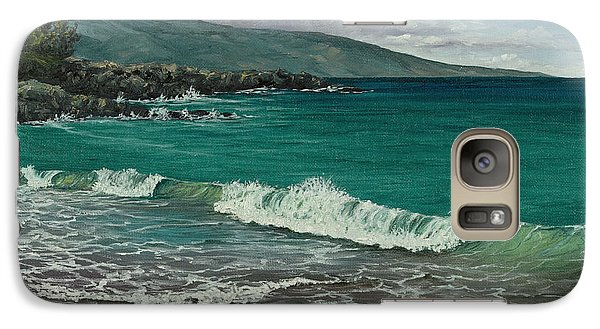 Galaxy Case featuring the painting Dt Fleming Beach by Darice Machel McGuire
