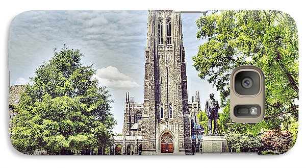 Duke Chapel In Spring Galaxy S7 Case by Emily Kay