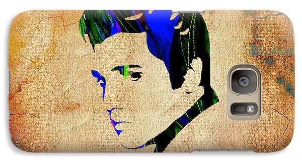 Elvis Presly Wall Art Galaxy Case by Marvin Blaine