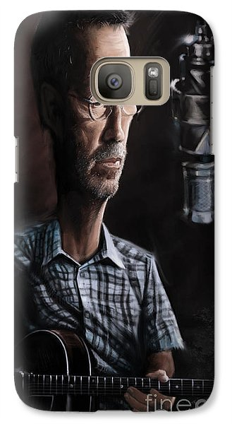 Eric Clapton Galaxy S7 Case by Andre Koekemoer