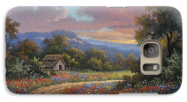 Galaxy Case featuring the painting Evening Medley by Kyle Wood