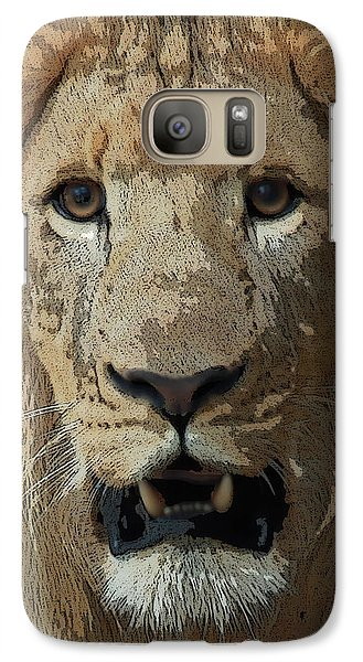 Galaxy Case featuring the photograph Eye Contact by Joseph G Holland
