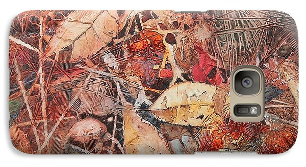 Galaxy Case featuring the painting Fallen II by Elizabeth Carr