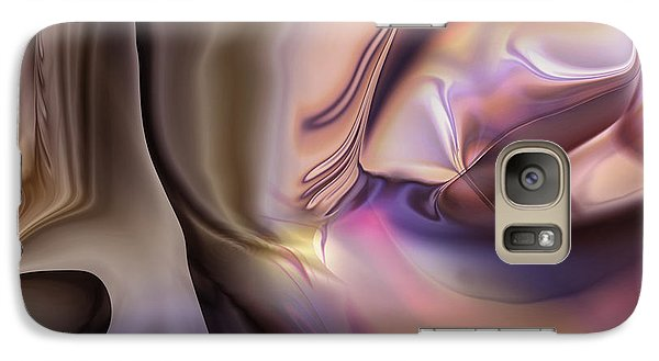 Galaxy Case featuring the digital art Fame Escapes by Steve Sperry