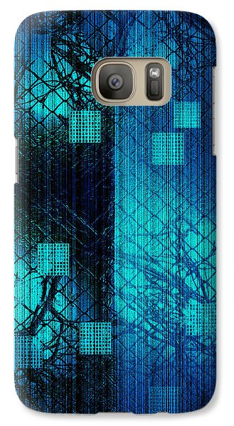 Galaxy Case featuring the photograph Fenced In by Steve Godleski