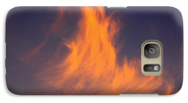 Galaxy Case featuring the photograph Fire In The Sky by Jeanette C Landstrom