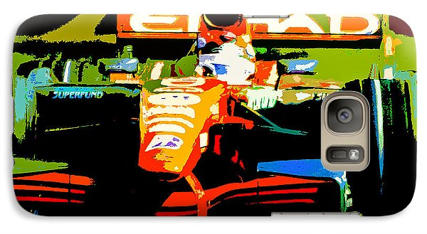 Galaxy Case featuring the photograph Formula One by Michael Nowotny
