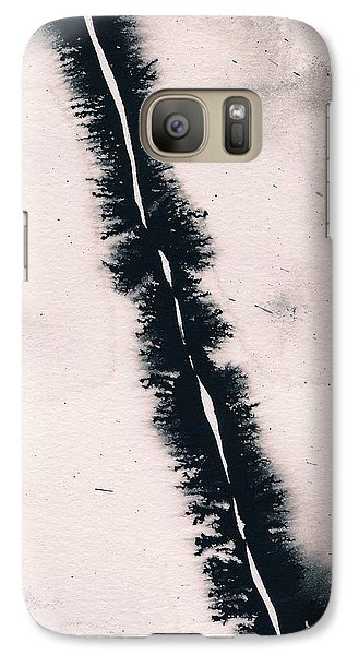Galaxy S7 Case featuring the painting Fracture by Marc Philippe Joly
