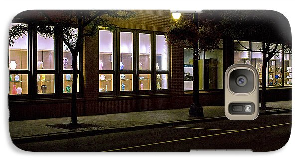 Galaxy Case featuring the photograph Frederick Carter Storefront 2 by Tom Doud