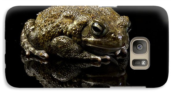 Galaxy Case featuring the photograph Frog by Gunnar Orn Arnason
