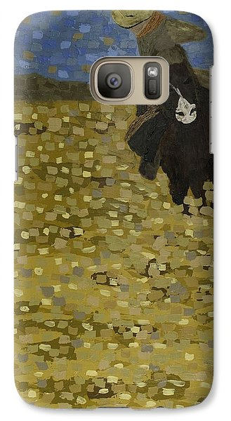 Galaxy Case featuring the painting Galloping  by Kurt Olson