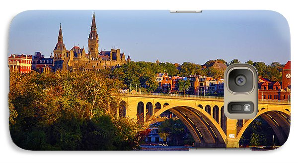 Georgetown Galaxy S7 Case by Mitch Cat