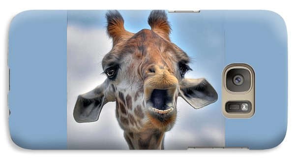 Galaxy Case featuring the photograph Giraffe  by Savannah Gibbs