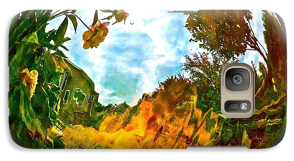 Galaxy Case featuring the photograph Global Warmth by Randy Rosenberger