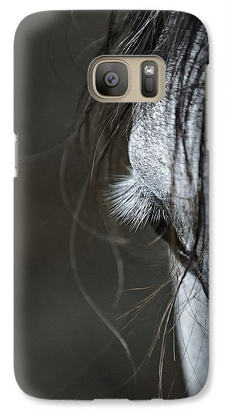 Galaxy Case featuring the photograph Gracie by Joan Davis