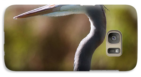 Galaxy Case featuring the photograph Great Blue Heron by Joseph G Holland