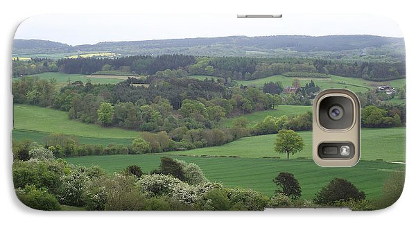 Galaxy Case featuring the photograph Green And Pleasant Land by Jayne Wilson