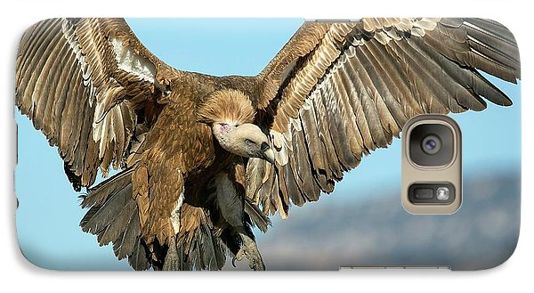 Griffon Vulture Flying Galaxy Case by Nicolas Reusens