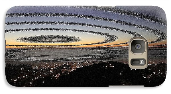 Galaxy Case featuring the photograph Halo by Nick David